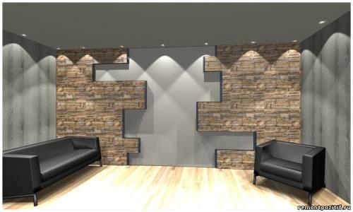 дизайн стен в доме