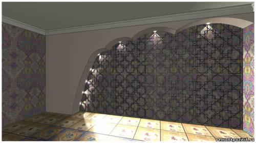 современная отделка стен в квартире