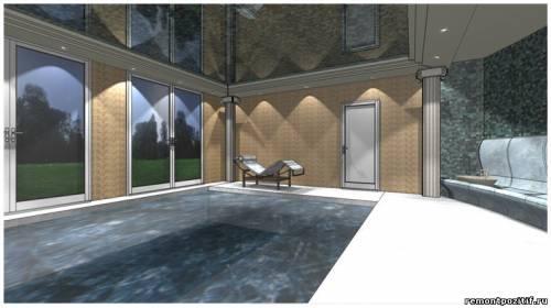 дизайн проект римской бани