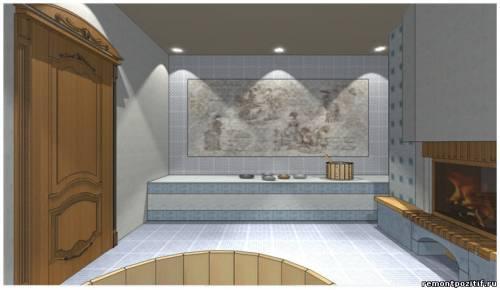 дизайн бани в английском стиле