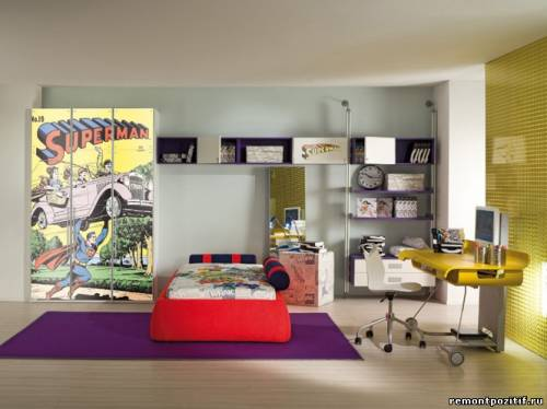 Детская комната Superman