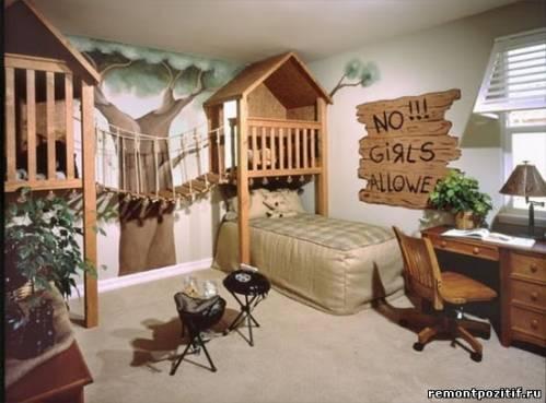 Детская комната Робинзон