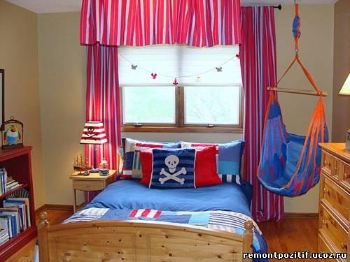 шторы на окна в детской комнате