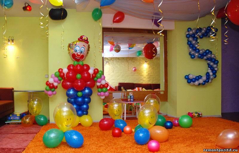 украшение детской к празднику