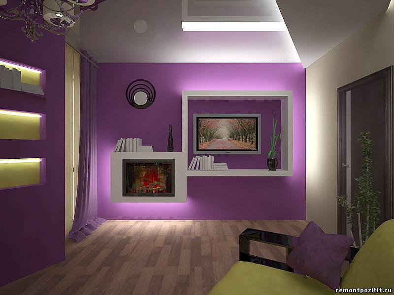 светодиодная подсветка в дизайне интерьера