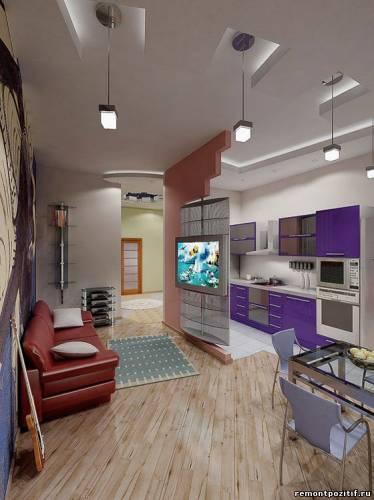 дизайн частичной стены в кухню