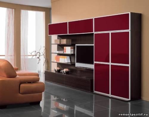 удобная мебельная стенка