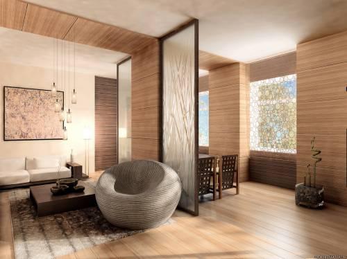 Современный интерьер квартир студии