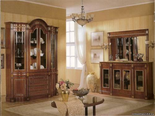 мебель со стеклянными фасадами