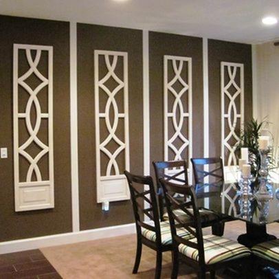ажурная лепнина в дизайне стен