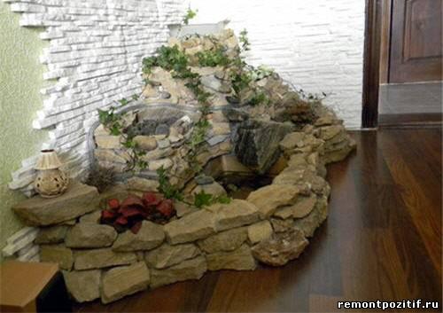 альпийская горка в квартире