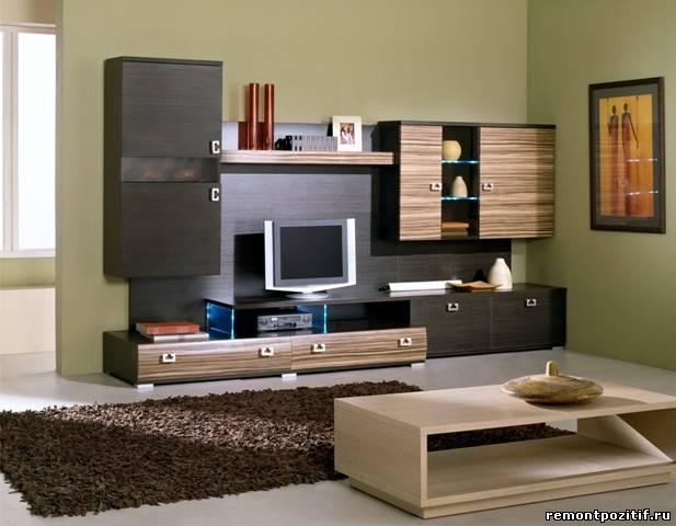 как установить телевизор в гостинлй
