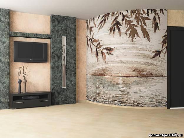 Декоративная роспись стен для любого интерьера.  Фактурная отделка стен.