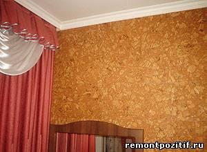пробковые плиты отделка стен
