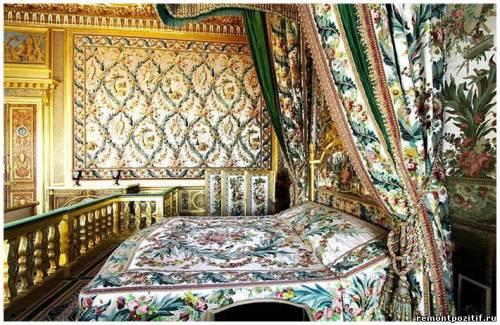 спальня марии антуанетты в версале
