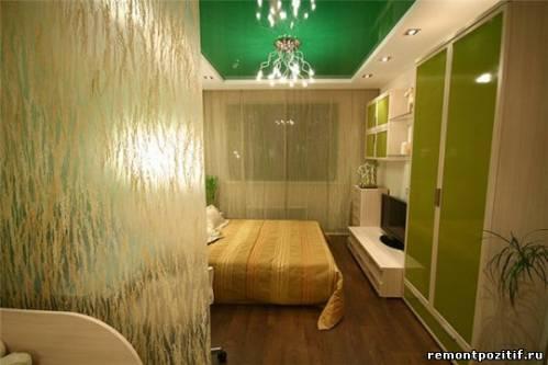 декоракрил в интерьере спальни
