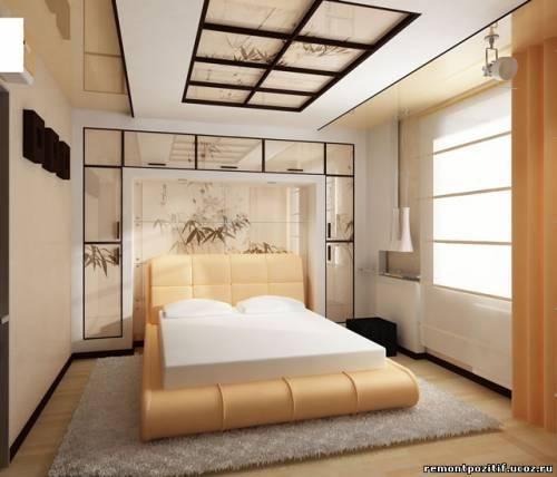 Современная спальная комната