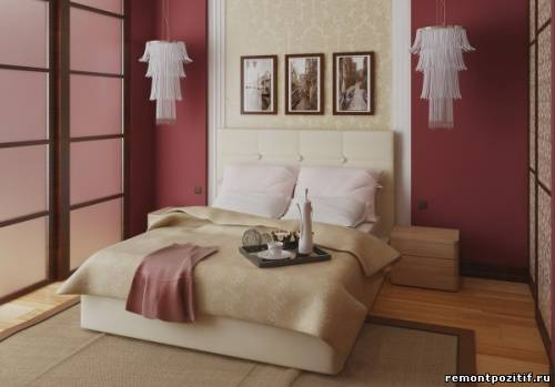 Современный дизайн спальни для