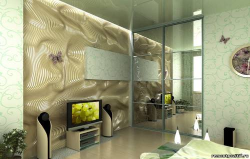 трехмерные декоративные панели для стен