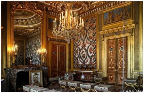 интерьер спальни марии антуанетты версаль