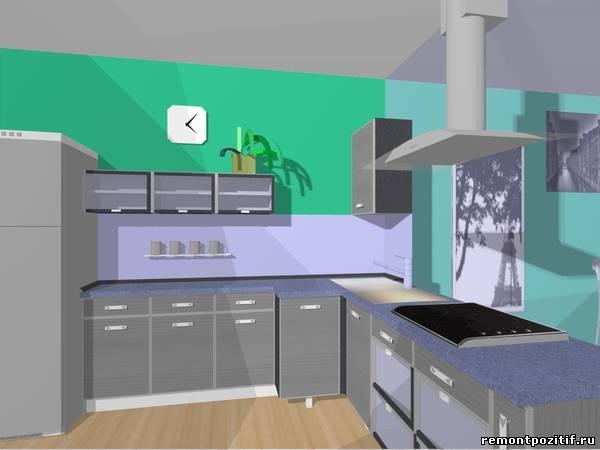 Дизайн проект кухни столовой дизайн
