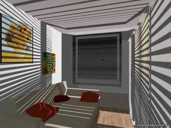 Дизайн комнаты 9 кв