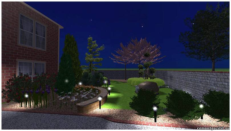 Ландшафтный дизайн на дачном участке видео