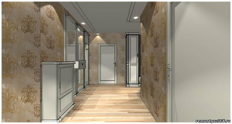 Дизайн проект квартиры копэ башня