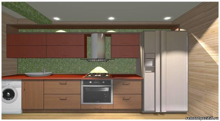 Дизайн кухни серии 44