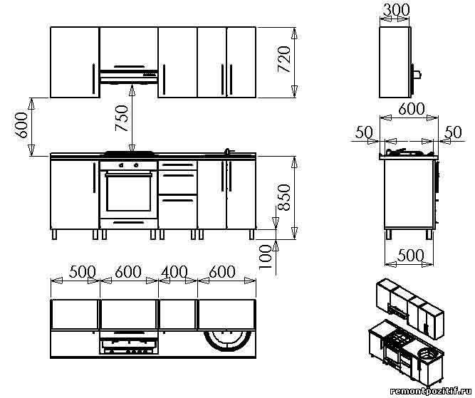 картинку модулей кухонного