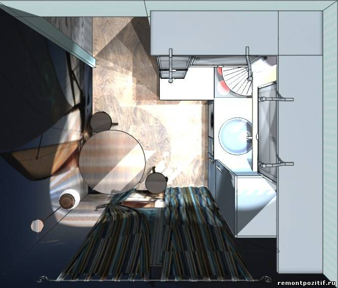 кухня 2х2 метра дизайн фото