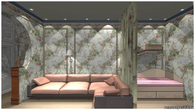 Дизайн комнаты спальня-гостиная-детская