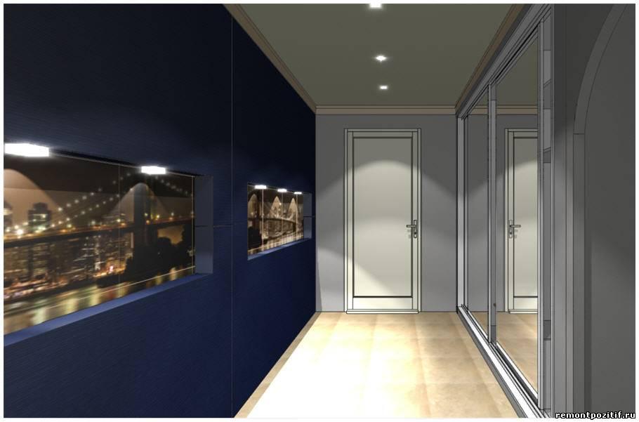 Дизайн прихожей в квартире дома серии