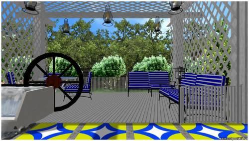 Дизайн места отдыха на даче с фото и