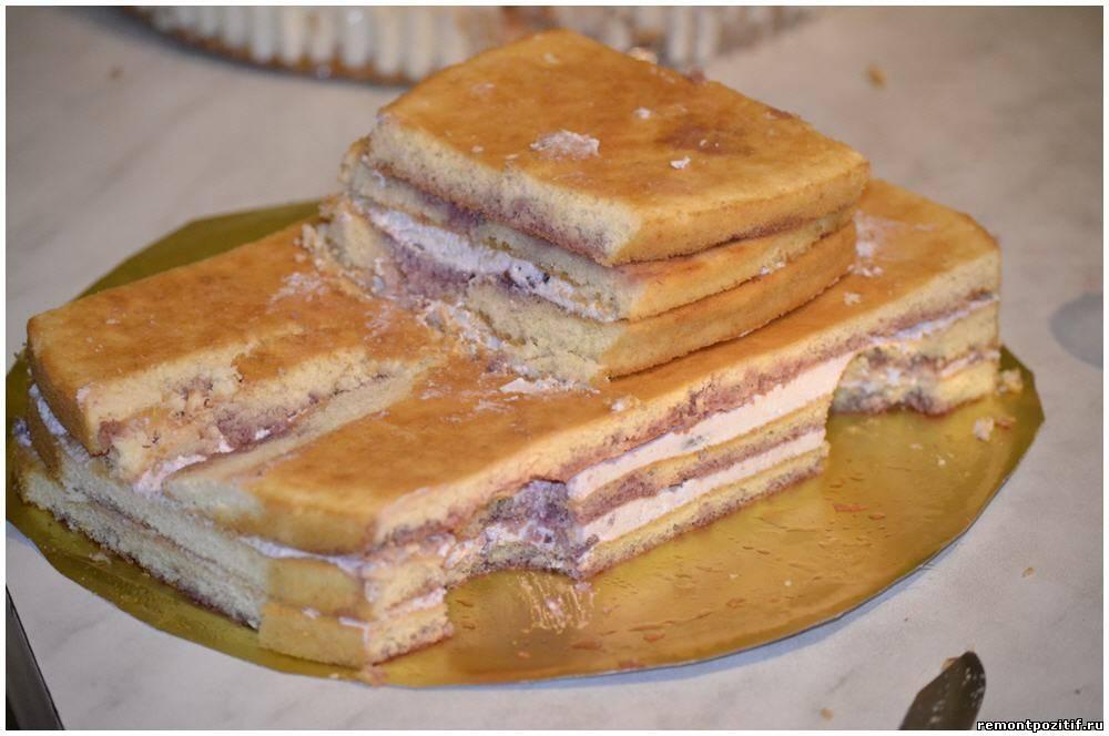 Торт из мастики своими руками бисквит 798