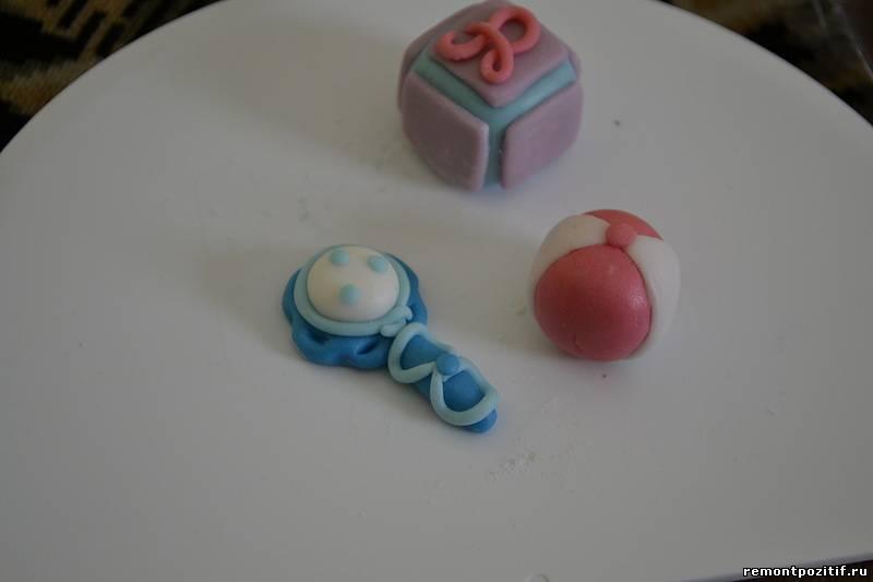 Украшение торта мастикой своими руками