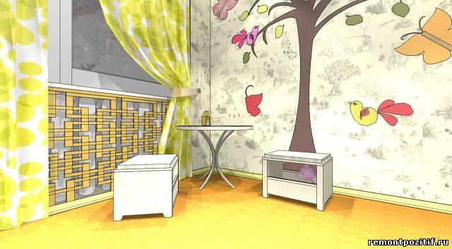 Дизайн детской комнаты 9 кв метров