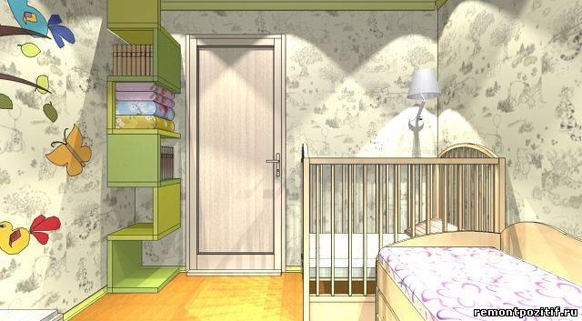 Дизайн детской для мальчиков 9 кв м