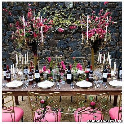 Стили оформления свадеб дизайн