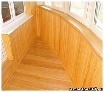 Как обшить балкон. варианты внутренней отделки стен, потолка.
