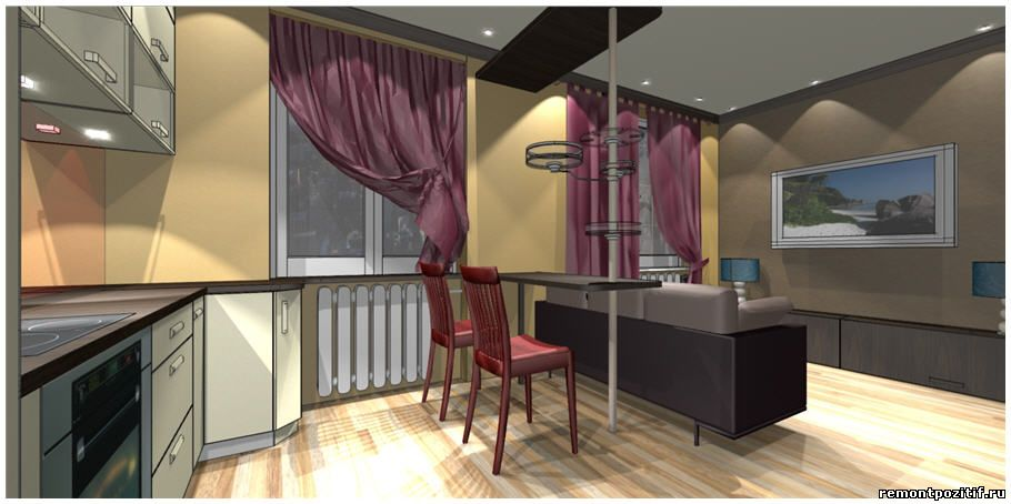 Дизайн кухни в хрущевке 6 кв м  фото и планировка