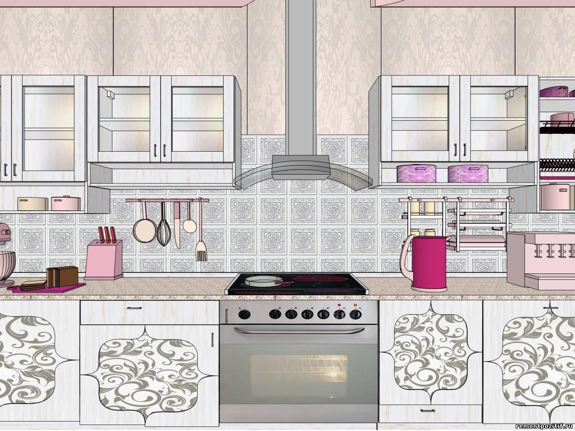 Дизайн кухни в кафе