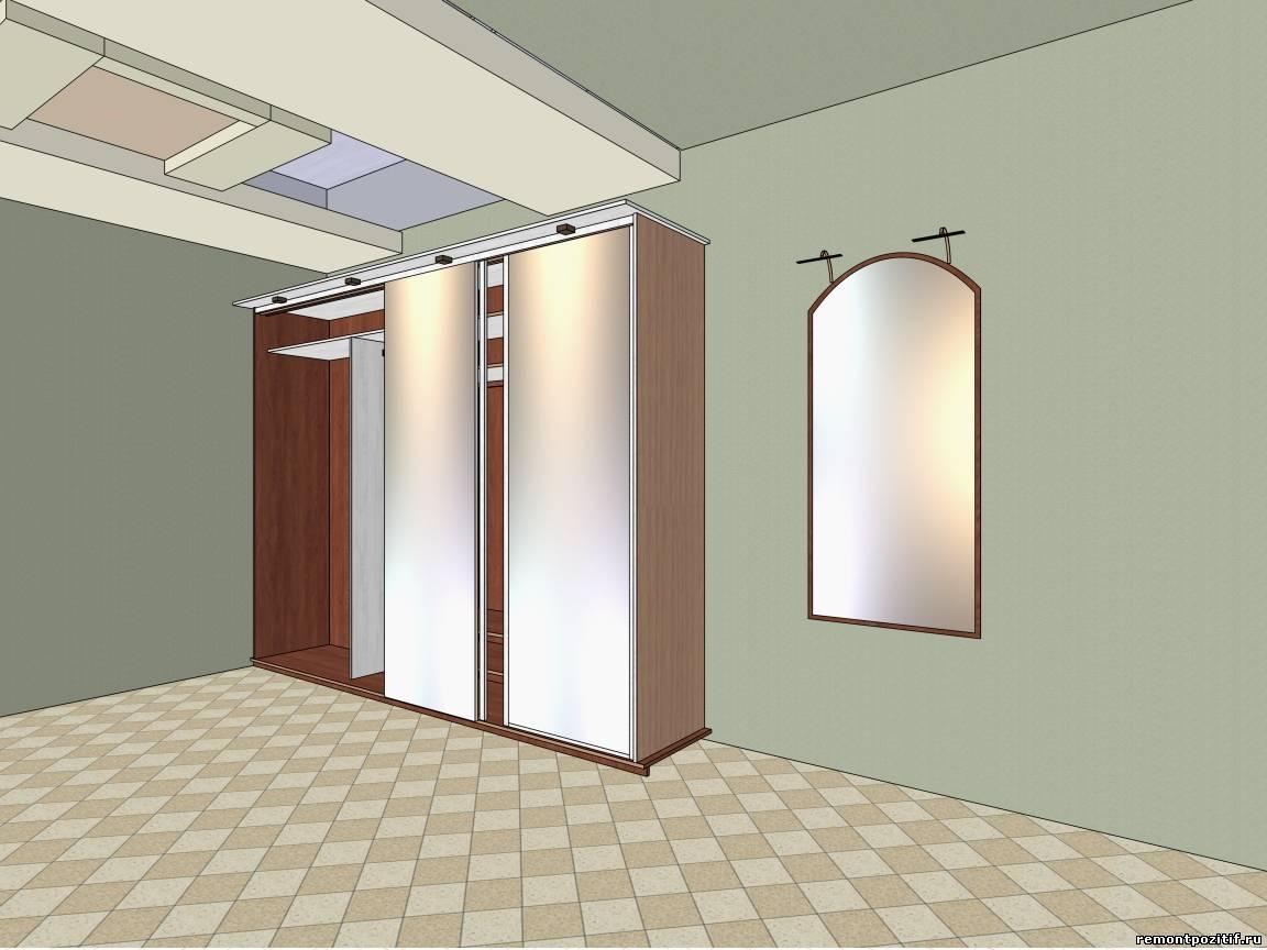 Дизайн прихожей с коридором