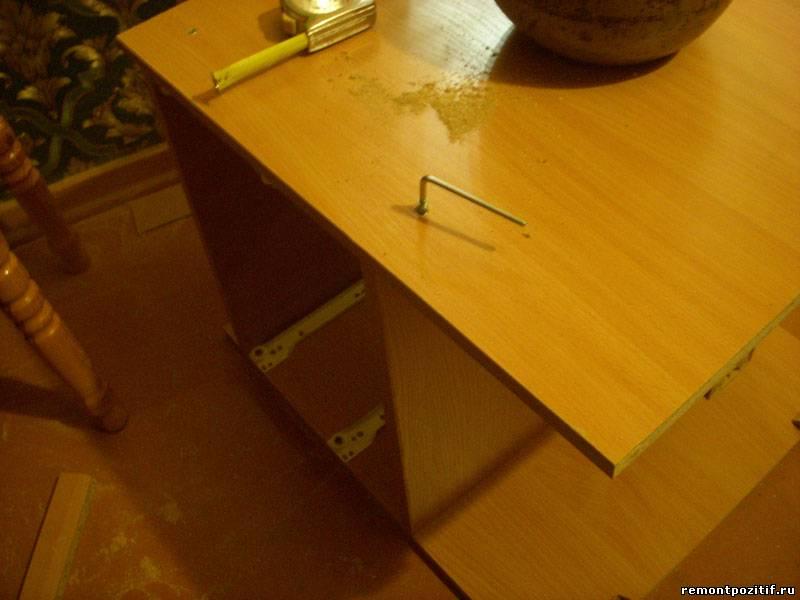 Как сделать надстройку для стола
