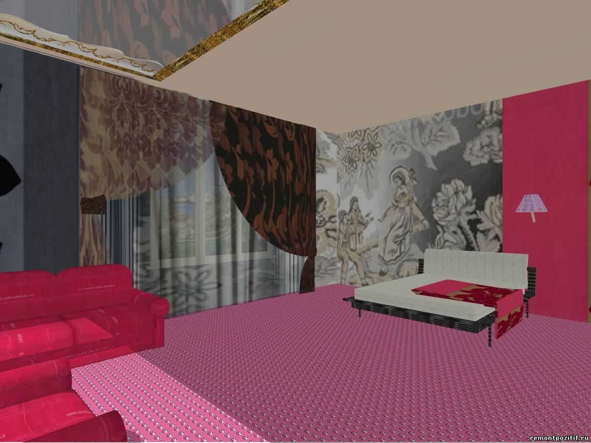 Дизайн для комнаты в стиле рок