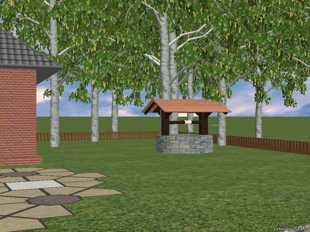 Большие деревья для ландшафтного дизайна