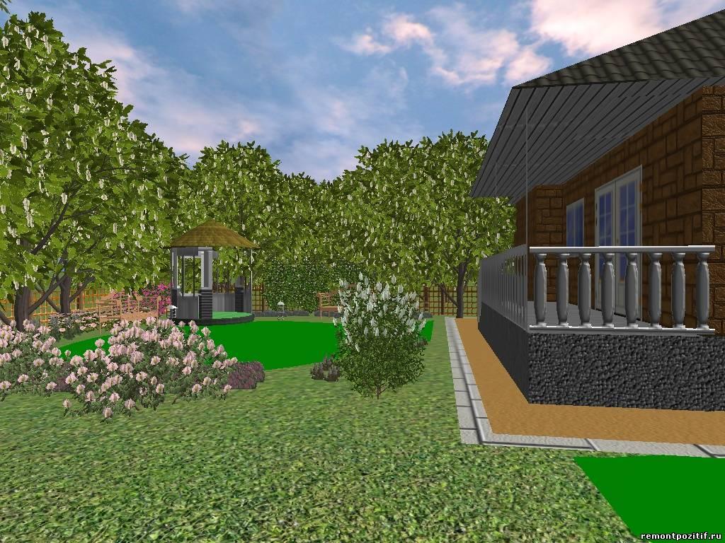 Зона отдыха на даче: как сделать уютный уголок, навес в саду