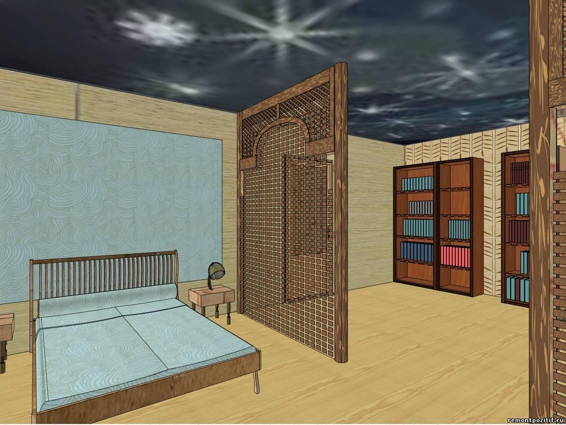 Спальня в гостиной дизайн