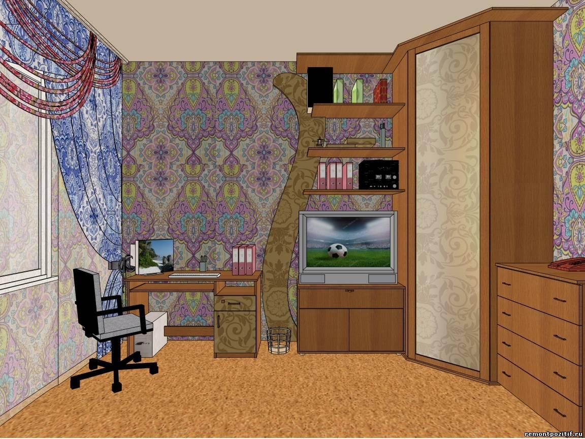 Дизайн интерьеров для молодого человека