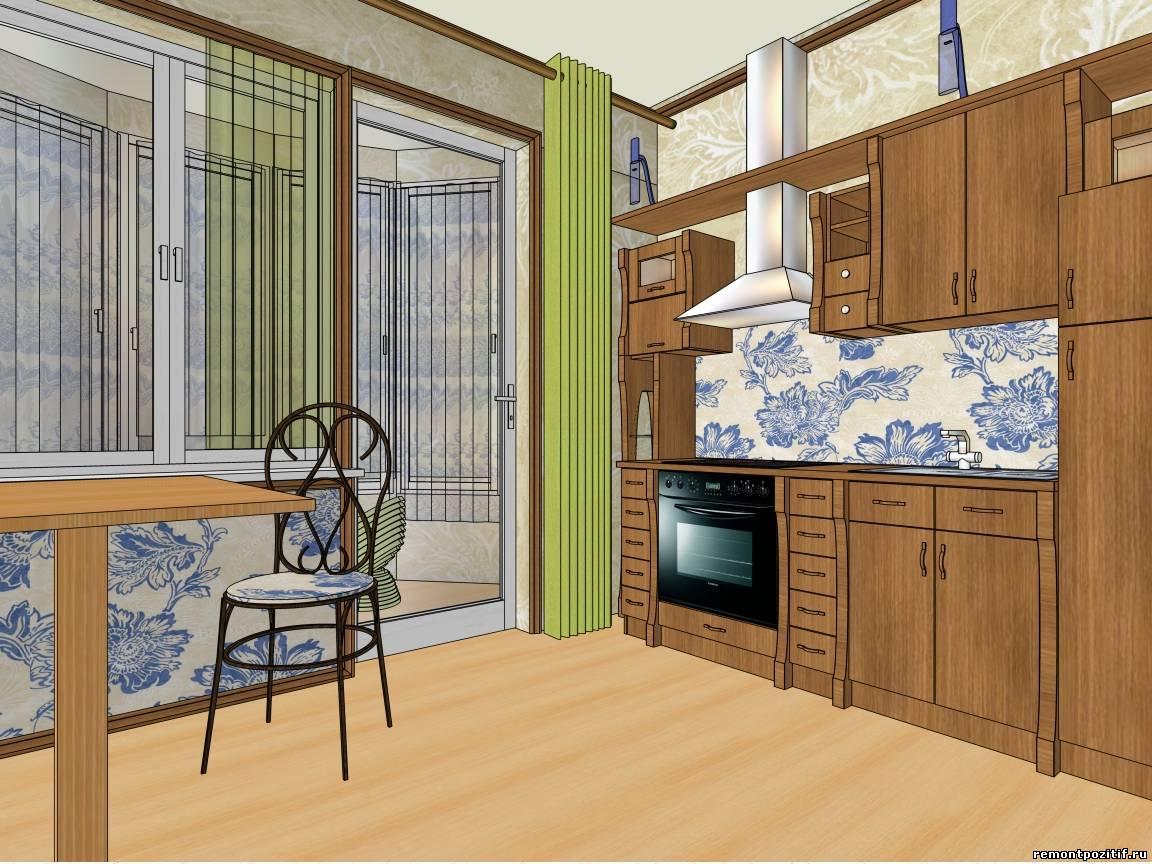 Дизайн кухни 6 кв м мы составили исходя